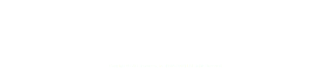 Main Products Services Company Contact Copyright © S&G Resources, Inc. (1985-2016) | All Rights Reserved.
